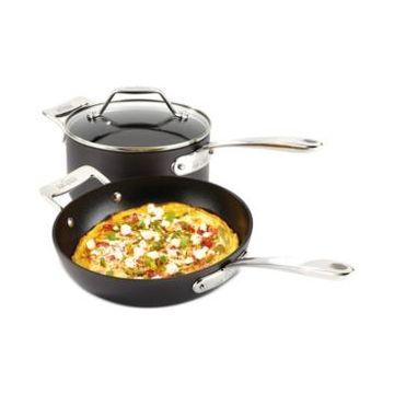 "All-Clad Essentials Nonstick 10.5"" Fry Pan and 4-Qt. Covered Saucepan Set"