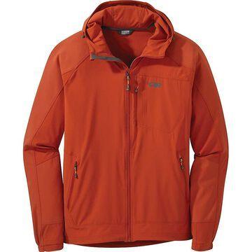 Outdoor Research Men's Ferrosi Hooded Jacket - XL - Burnt Orange
