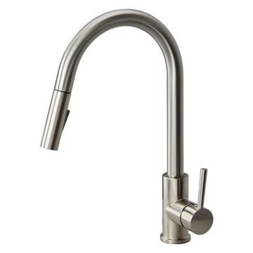 Transolid, Sink Faucet, Luxe Stainless, 2
