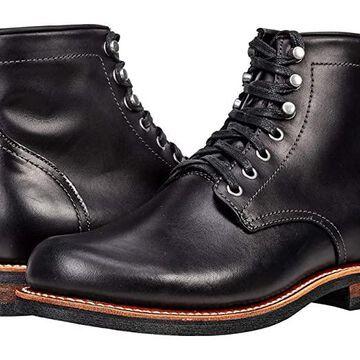 Georgia Boot Small Batch 6 Plain Toe Stacked Heel