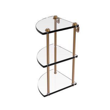 Allied Brass Brushed Bronze Brass Bathroom Shelf