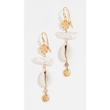 Chan Luu Seashell Mix Earrings