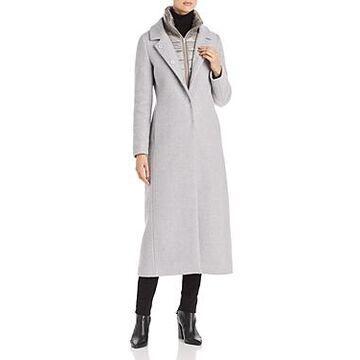 Herno Mixed-Media Coat