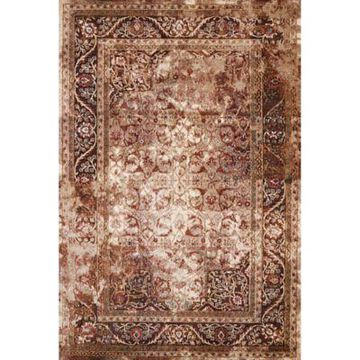 United Weavers Jules Camelot Tufted 7'10 x 10'6 Accent Rug in Brown