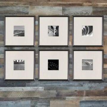 Black 6-Piece Frame Set By Studio Decor