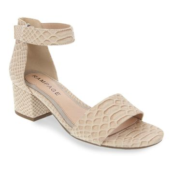 Womens Rampage Melsy Ankle Strap Sandal