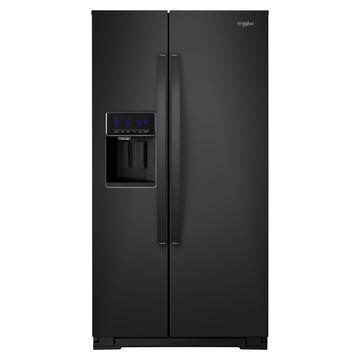 Whirlpool 28 Cu. Ft. Side-by-Side Refrigerator - Black