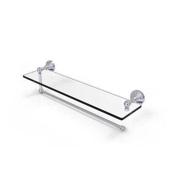 Allied Brass Metal Satin Chrome Paper Towel Holder | WP-1PT/22-SCH