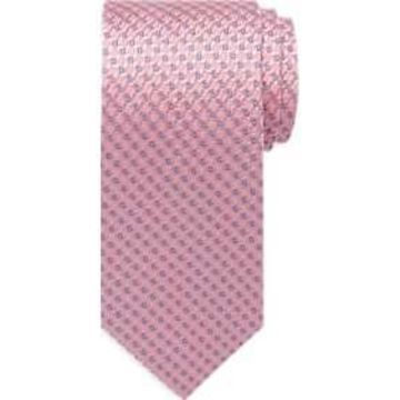 Pronto Uomo Pink Check Narrow Tie