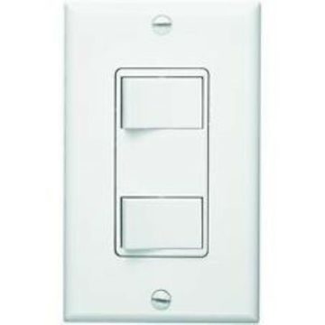 Broan Nutone P68W Two Function Control White Wall Switch QTY 4