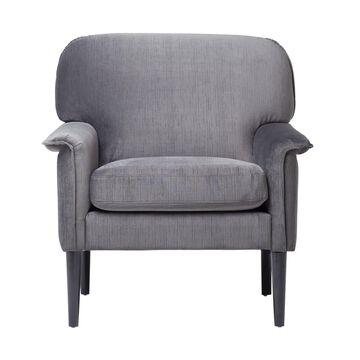 Offex Mansard Arm Chair - Charcoal