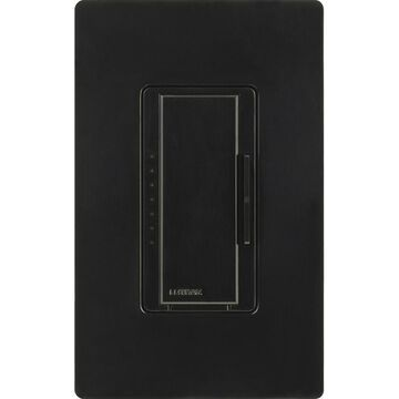 Lutron Maestro Single-Pole Black Touch Light Dimmer