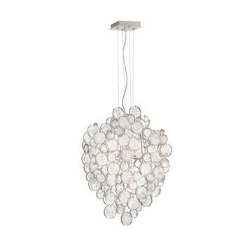 Eurofase Trento 7-Light Champagne Modern/Contemporary Chandelier