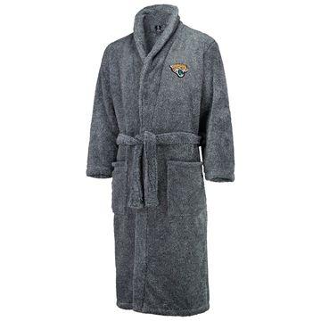 Jacksonville Jaguars Concepts Sport Trifecta Robe - Charcoal