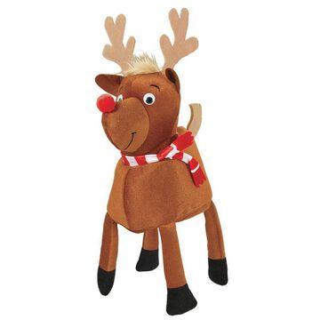 Amscan 13 in. x 21 in. Christmas Reindeer Hat in Brown