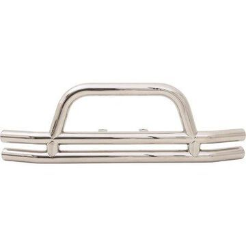 Smittybilt Front Bumper with Hoop (Stainless Steel) - JB44-FS