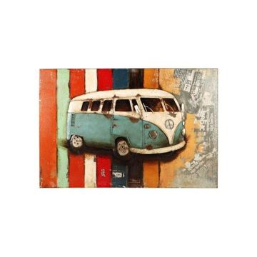 Moes Home Collection PR-1006 Paintings & Print Wall Decor, Multi-Color