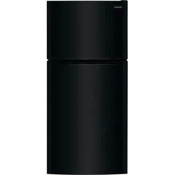 Frigidaire 18.3-cu ft Top-Freezer Refrigerator (Black)   FFTR1835VB