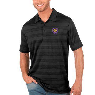 Orlando City SC Antigua Compass Polo - Black