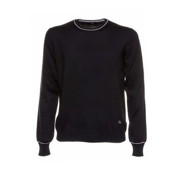 Fay Fay Black Wool Sweater
