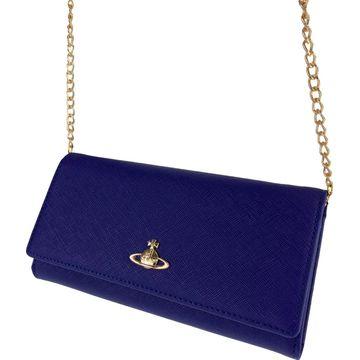 Vivienne Westwood Blue Leather Wallets