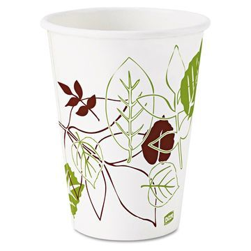 Dixie Pathways Polycoated Paper Cold Cups 12oz 2400/Carton 12FPPATH