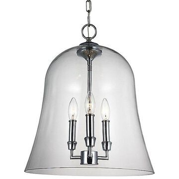 Lawler Bell Pendant by Feiss
