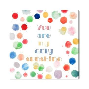Oliver Gal My Only Sunshine Canvas Art, 12