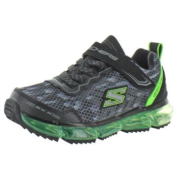 Skechers Boys Faux Leather Athletic Shoes