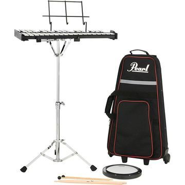 Pearl PK910C Educational Bell Kit with Rolling Cart 8 in.