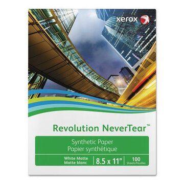 "Xerox Revolution NeverTear 98 Bright 5 mil 11"" x 17"" White 100/Pack 3R20174"