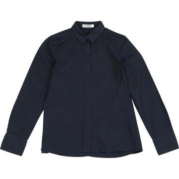 Jil Sander Navy Cotton Tops