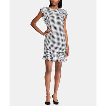 Gingham Georgette Dress