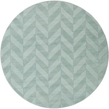 """Artistic Weavers Central Park Carrie 7' 9"""" Round Area Rug In Teal"""
