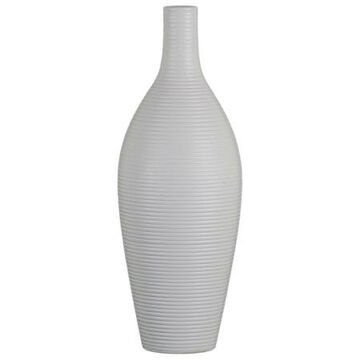 Urban Trends Collection: Ceramic Vase Matte Finish White