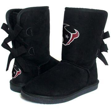 Women's Houston Texans Cuce Black Patron 2 Boots