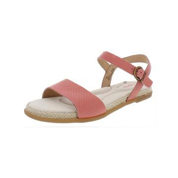 Born Womens Welch Flat Sandals Leather Espadrille