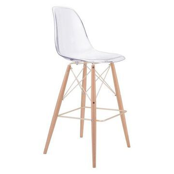 Zuo Modern Shadow Bar Chair