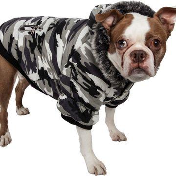 Pet Life Fashion Parka Dog Coat