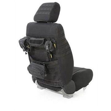 Smittybilt 56647501 Gear Custom Fit Seat Covers Front Black For 03-06 Jeep TJ LJ