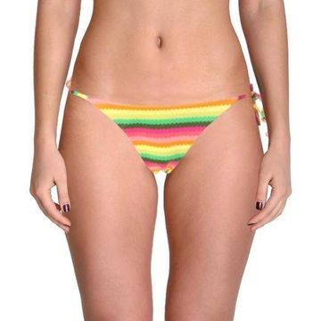 L Space Womens Lily Striped Full Cut Swim Bottom Separates