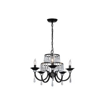 Dale Tiffany Dakota Crystal Chandelier