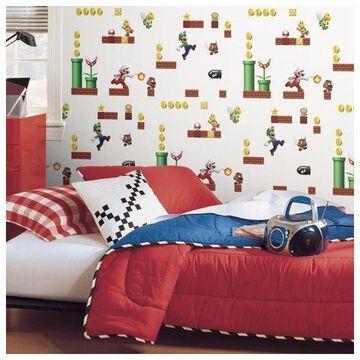 Mario Peel & Stick Wallpaper