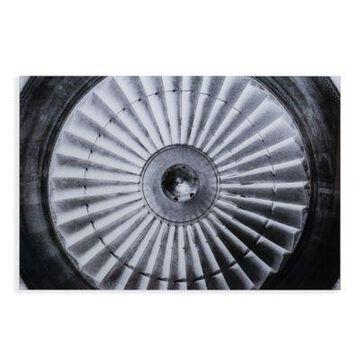 Southern Enterprises Jet Engine Glass Wall Art