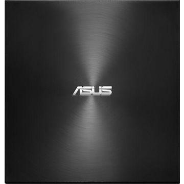ASUS - ZenDrive 8x External USB Double-Layer DVDR/CD-RW Drive - Black