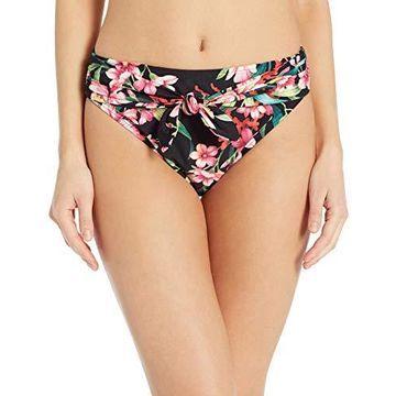 Carmen Marc Valvo Women's Bikini Bottom Swimsuit with Front