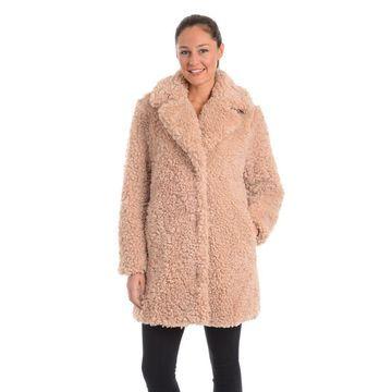 Kensie Women's Wubby Fleece Coat