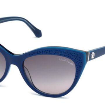 Roberto Cavalli RC 982S TEGMEN 91B Womenas Sunglasses Blue Size 56