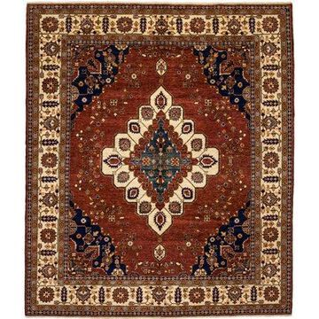 Solo Rugs One-of-a-kind Ziegler Hand-knotted Area Rug 8' x 10'