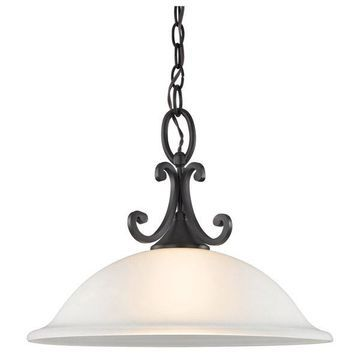 Cornerstone Hamilton 1 Light Pendant, Oil Rubbed Bronze